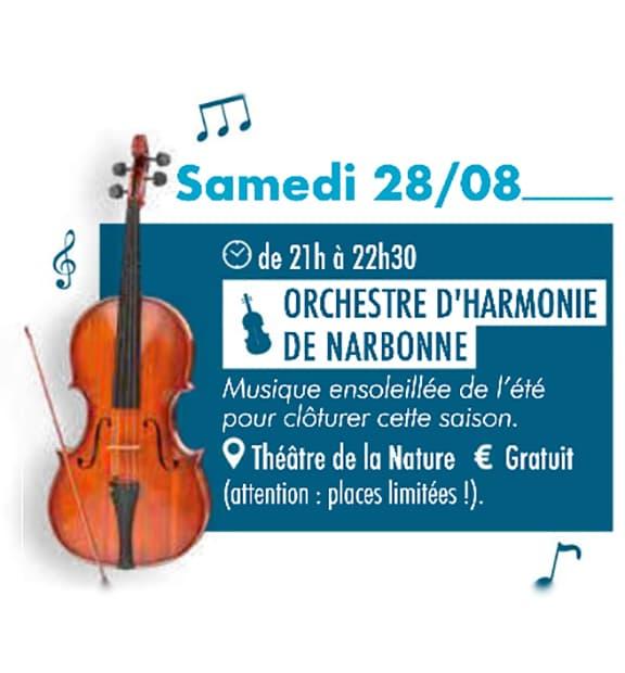 Orchestre Nabonne - Concert de l'OHN
